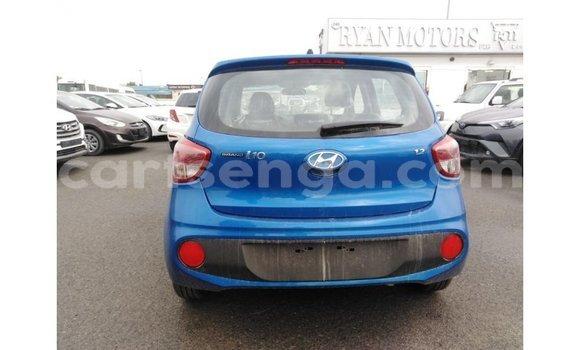Buy Import Hyundai i10 Blue Car in Import - Dubai in Hhohho