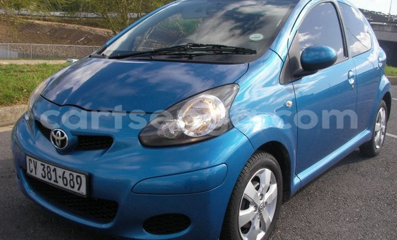 Buy Used Toyota Aygo Blue Car in Ezulwini in Hhohho
