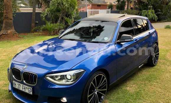 Buy Used BMW 1–Series Blue Car in Bhunya in Manzini