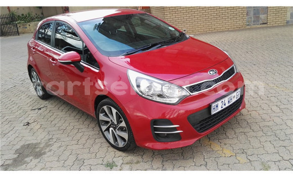 Buy Used Kia Rio Red Car in Hluti in Shiselweni District