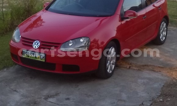 Buy Used Volkswagen Golf Red Car in Piggs Peak in Swaziland