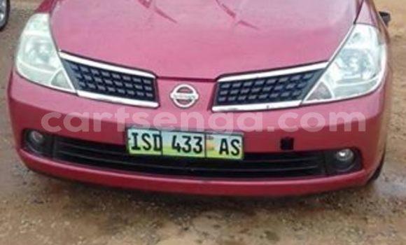 Buy Used Nissan Tiida Red Car in Manzini in Manzini
