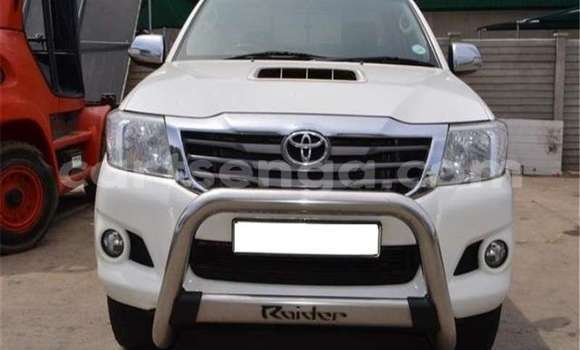 Acheter Occasion Voiture Toyota Hilux Blanc à Bhunya, Manzini