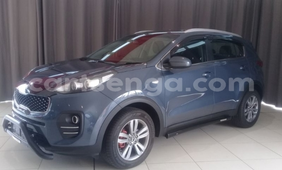 Buy Used Kia Sportage Blue Car in Big Bend in Lubombo District