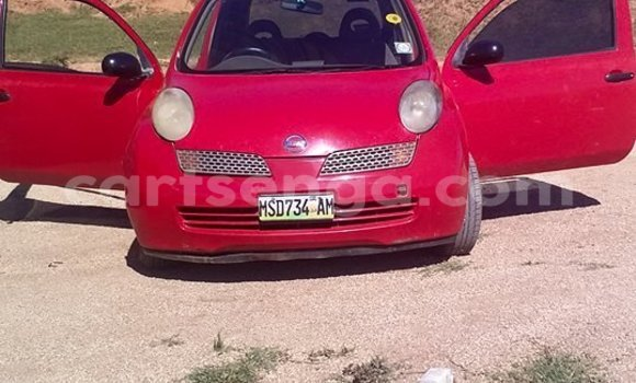 Buy Used Nissan March Red Car in Manzini in Swaziland