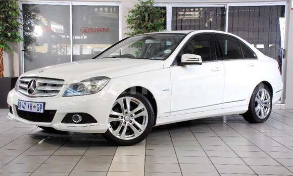 Buy Import Mercedes‒Benz C–Class White Car in Import - Dubai in Hhohho