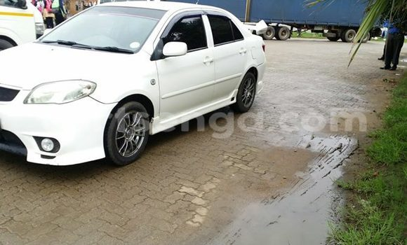 Buy Used Toyota Vios White Car in Manzini in Swaziland