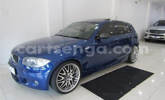 Acheter Occasion Voiture BMW 1–Series Bleu à Import - Dubai, Hhohho