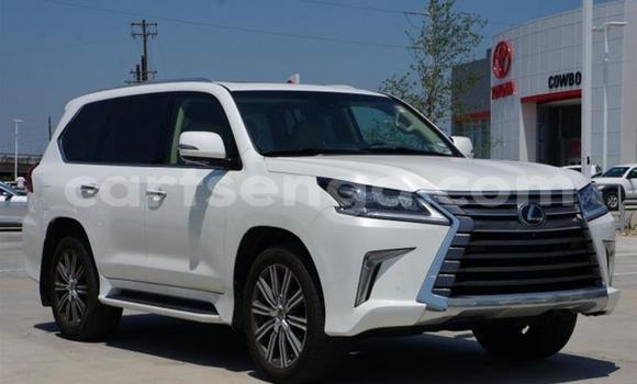 Buy Used Lexus LX White Car in Import - Dubai in Hhohho