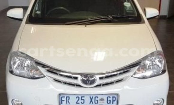 Buy Used Toyota Etios White Car in Bhunya in Manzini