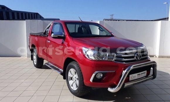 Buy Used Toyota Hilux Red Car in Bhunya in Manzini