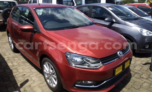 Buy Used Volkswagen Polo Red Car in Import - Dubai in Hhohho