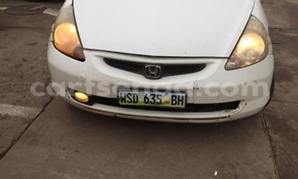 Buy Used Honda FIT White Car in Mbabane in Manzini