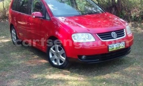 Buy Used Volkswagen Touran Red Car in Mbabane in Manzini