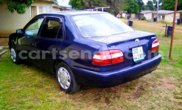 Buy Used Toyota Corolla Blue Car in Manzini in Swaziland