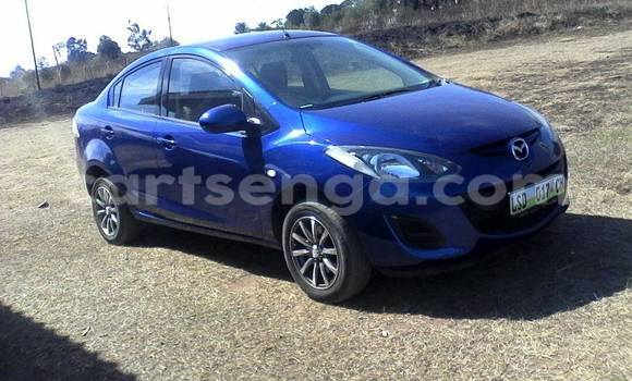 Buy Used Mazda 2 Blue Car in Manzini in Swaziland