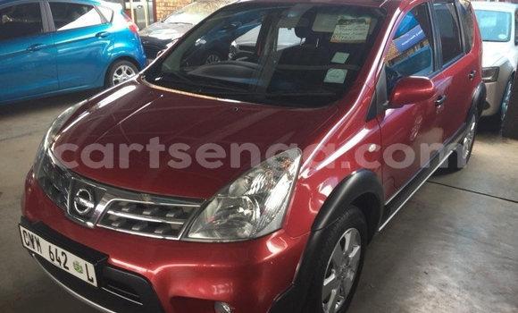 Buy Used Nissan Livina Red Car in Mbabane in Manzini