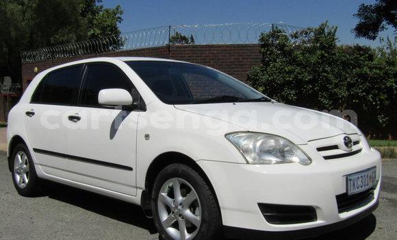 Buy Used Toyota Runx White Car in Mbabane in Manzini