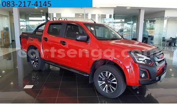 Buy Used Isuzu KB Red Car in Mbabane in Manzini