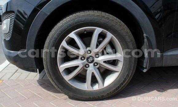 Buy Import Hyundai Santa Fe Black Car in Import - Dubai in Hhohho