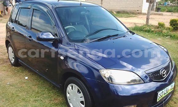 Buy Used Mazda Demio Blue Car in Manzini in Manzini
