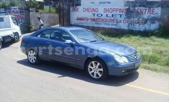 Buy Used Mercedes‒Benz CLK–Class Blue Car in Mbabane in Manzini
