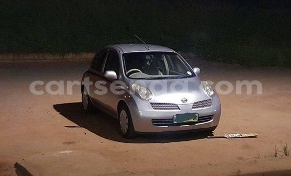 Buy Used Nissan March Silver Car in Matsapha in Manzini