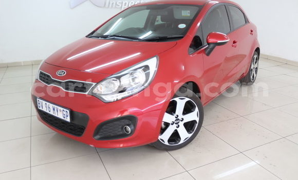 Buy Used Kia Rio Red Car in Manzini in Manzini