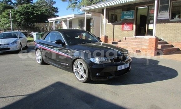 Acheter Occasion Voiture BMW 1–Series Noir à Mbabane, Manzini