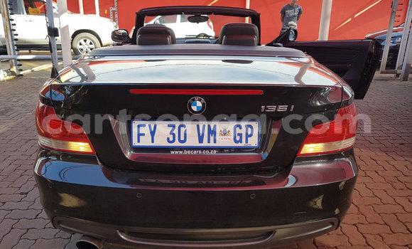 Buy Used BMW 1–Series Black Car in Mbabane in Manzini