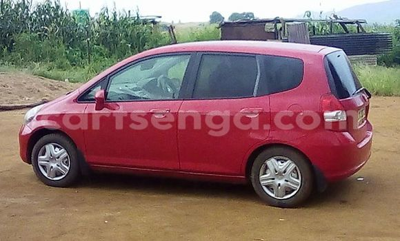 Buy Honda Fit Red Car in Manzini in Swaziland