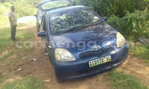 Buy Toyota Vitz Blue Car in Manzini in Swaziland