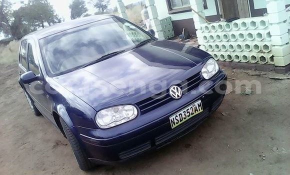 Buy Volkswagen Golf Blue Car in Manzini in Swaziland