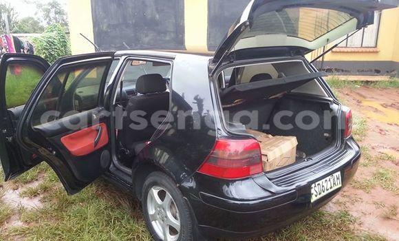 Buy Volkswagen Golf Black Car in Manzini in Swaziland