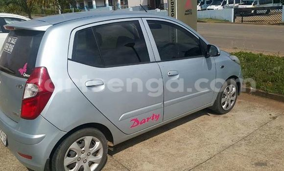 Buy Used Hyundai i20 Silver Car in Manzini in Swaziland
