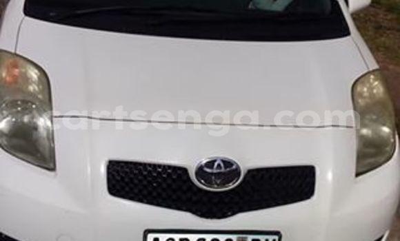 Buy Used Toyota Vitz White Car in Manzini in Manzini