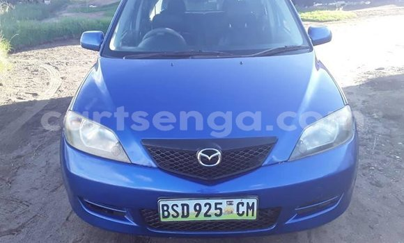 Buy Used Mazda Demio Blue Car in Matsapha in Manzini