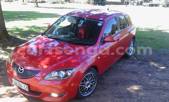 Buy Used Mazda 326 Red Car in Manzini in Swaziland
