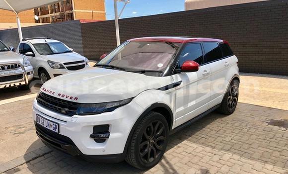 Buy Used Land Rover Range Rover Evoque White Car in Manzini in Manzini