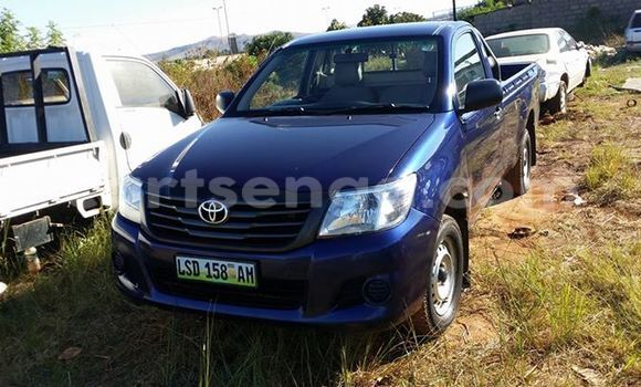 Buy Used Toyota Hilux Black Car in Manzini in Swaziland