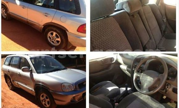 Buy Used Hyundai Santa Fe Silver Car in Manzini in Swaziland