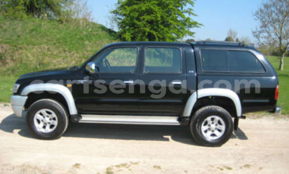 Buy Toyota Hilux Black Car in Mbabane in Swaziland