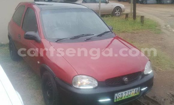 Buy Used Opel Corsa Red Car in Manzini in Swaziland