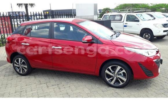 Buy Used Toyota Yaris Red Car in Bhunya in Manzini
