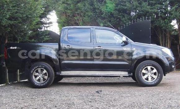 Buy Used Toyota Hilux Black Car in Manzini in Swaziland