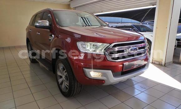 Buy Used Ford Everest Red Car in Big Bend in Lubombo