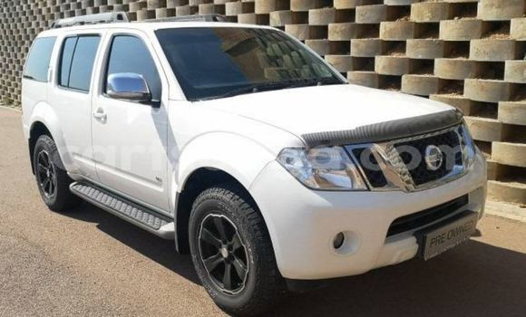 Buy Used Nissan Pathfinder White Car in Big Bend in Lubombo