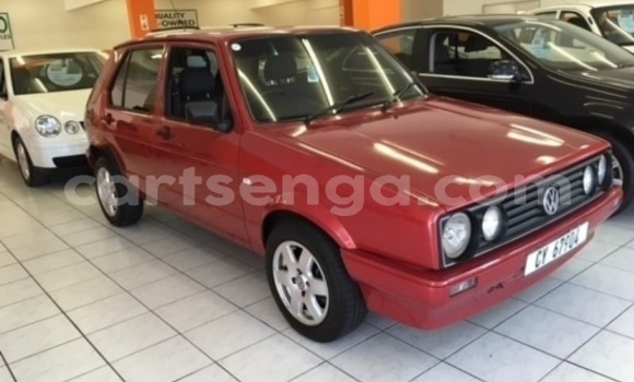 Buy Used Volkswagen Golf Red Car in Big Bend in Lubombo