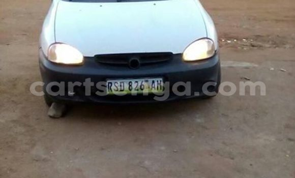 Buy Used Opel Corsa White Car in Manzini in Swaziland