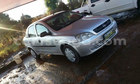 Buy Used Opel Corsa Silver Car in Manzini in Swaziland